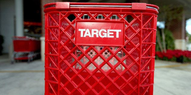 MIAMI, FL - DECEMBER 19:  Carts are seen outside of a arget store on December 19, 2013 in Miami, Florida. Target announced th