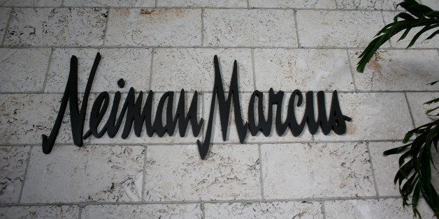 CORAL GABLES, FL - SEPTEMBER 09:  A Neiman Marcus sign is seen the outside of one of the stores on September 9, 2013 in Coral