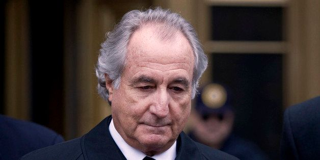 UNITED STATES - MARCH 10:  Bernard Madoff, founder of Bernard L. Madoff Investment Securities LLC, leaves federal court in Ne