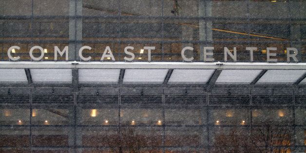 PHILADELPHIA, PA  - FEBRUARY 13: Comcast headquarters in downtown on February 13, 2014 in Philadelphia, Pennsylvania. Comcast