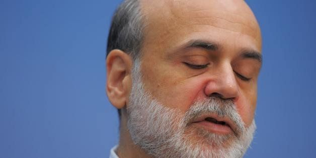 Federal Reserve Chairman Ben Bernanke delivers the keynote address at the Brookings Institution forum on the September 2008 f