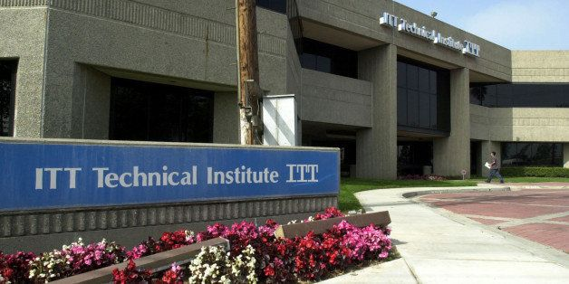 UNITED STATES - MARCH 15:  This is the campus of ITT Technical Institute in Anaheim, California, Monday, March 15, 2004. Eigh