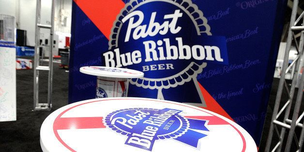 LAS VEGAS, NV - MARCH 21:  View of the Pabst Blue Ribbon booth during the 28th annual Nightclub & Bar Convention and Trade Sh