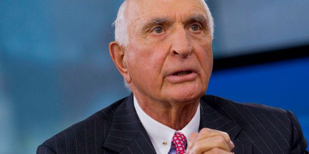 Kenneth 'Ken' Langone, co-founder of Home Depot Inc., speaks during a Bloomberg Television interview in New York, U.S., on Fr