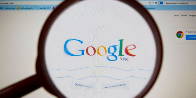 The Google logo as seen by millions of users worldwide on a laptop screen. PRESS ASSOCIATION Photo. Picture date: Tuesday Dec