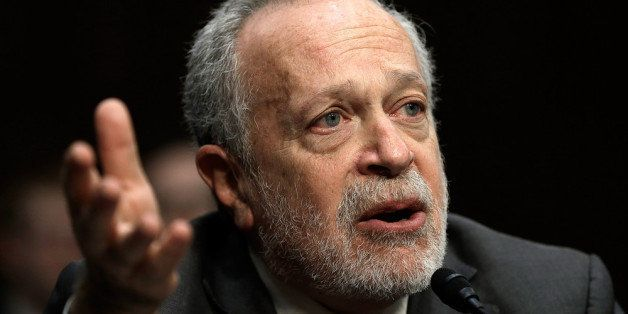WASHINGTON, DC - JANUARY 16:  Former U.S. Labor Secretary Robert Reich testifies before the Joint Economic Committee January