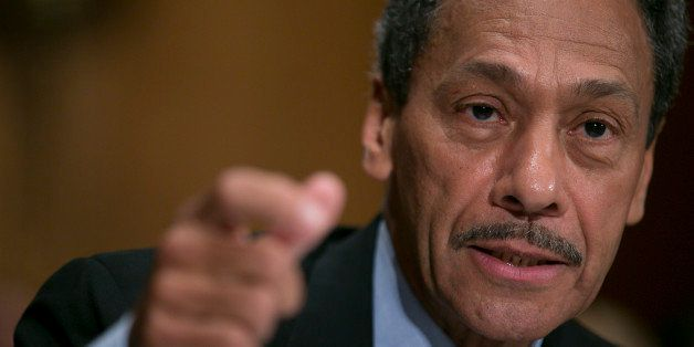 Representative Mel Watt, a Democrat from North Carolina and U.S. President Barack Obama's nominee as director of the Federal