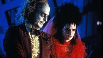 Michael Keaton and Winona Ryder in a scene from Beetlejuice