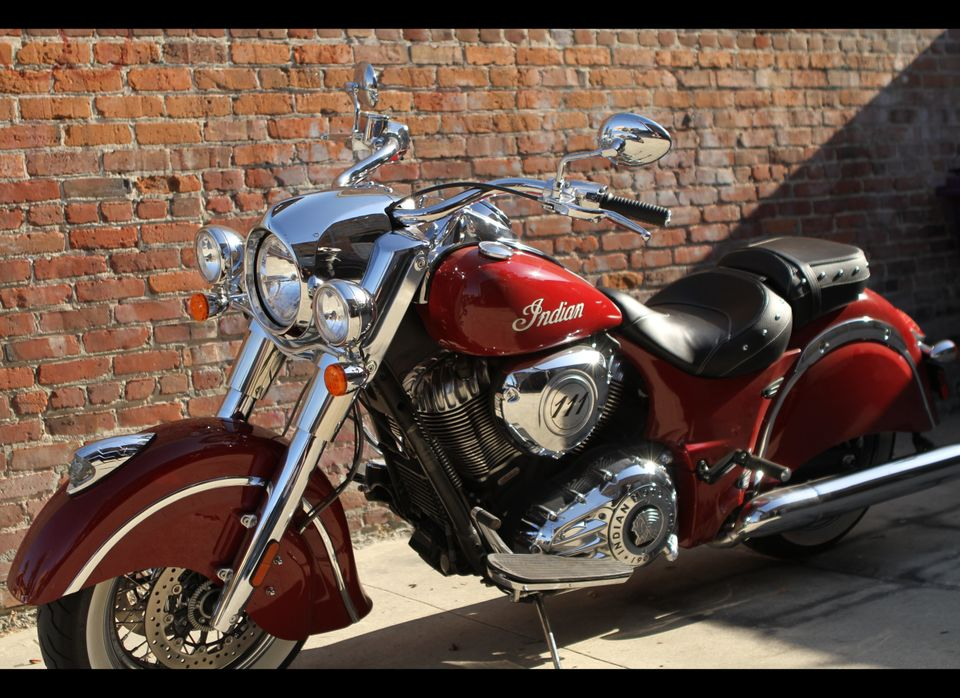 From top to bottom this new Indian Classic Chief is a showstopper.