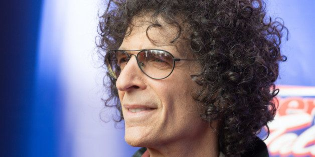NEWARK, NJ - FEBRUARY 20:  Howard Stern arves   at the 'America's Got Talent' Season 9 Photo Call  at New Jersey Performing A