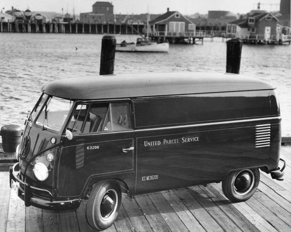 UPS tries out a great number of different vehicles to fit package volume to miles driven. Here's one that UPS tried out in 19