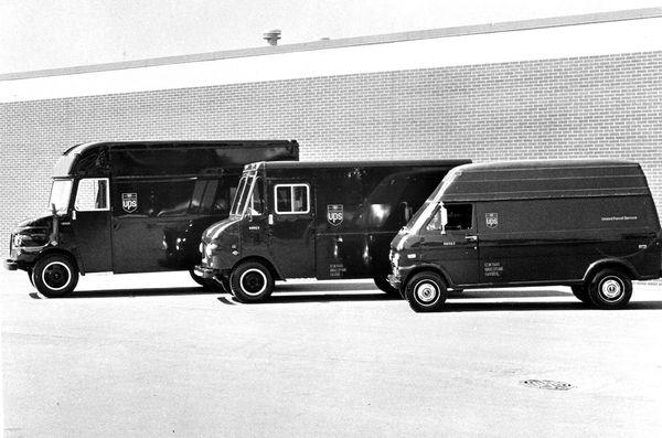 Various vehicles in the 1971 fleet.