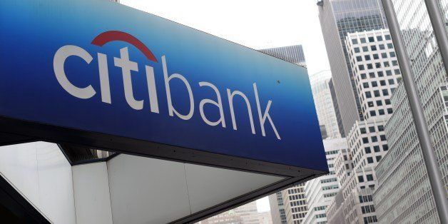 The Citibank Corporate Office & Headquarters are viewed in midtown Manhattan July 14, 2014.  Citigroup on Monday agreed to pa