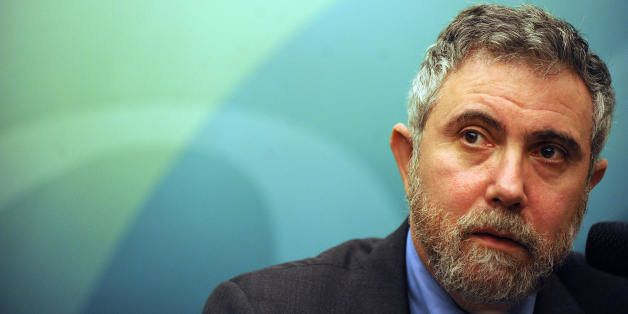 Dr Paul Krugman, 2008 Nobel Laureate, speaks at a press conference held by the Securities and Futures Commission (SFC) in Hon