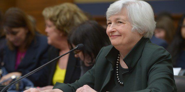 Federal Reserve Chair Janet Yellen testifies before the House Financial Services Committee on monetary policy and the state o