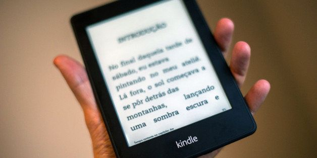 View of a Kindle reader --which will be sold in 299 Reais (150 dolars) for the Brazilian market-- in Sao Paulo, Brazil on Mar