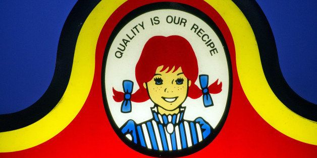 The Wendy's Co. logo is displayed outside of a restaurant in Daly City, California, U.S., on Sunday, Aug. 7, 2011. Wendy's Co