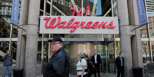 BOSTON - APRIL 30: A new upscale Walgreens will open in Downtown Crossing tomorrow on Wednesday, May 1, 2013. (Photo by Wendy