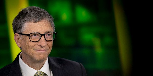 Billionaire Bill Gates, chairman and founder of Microsoft Corp., speaks during a Bloomberg Television interview in New York, U.S., on Tuesday, Jan. 21, 2014. Gates, the world's richest man, said that by 2035 no nation will be as poor as any of the 35 that the World Bank now classifies as low-income, even adjusting for inflation. Photographer: Scott Eells/Bloomberg via Getty Images