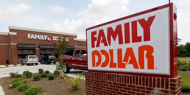 FILE - This Tuesday, Aug. 19, 2014 photo shows the Family Dollar store in Ridgeland, Miss. Dollar General...
