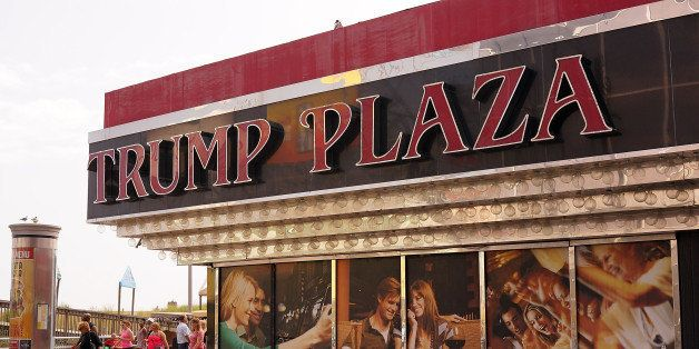 ATLANTIC CITY, NJ - JULY 29:  The Trump Plaza ,which is scheduled to close, is viewed in Atlantic City on July 29, 2014 in At