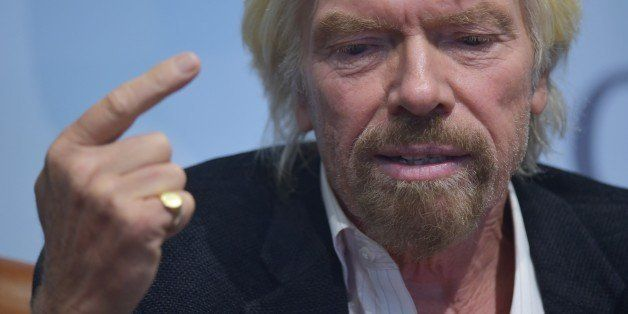 Virgin Group founder Sir Richard Branson speaks during a disscussion on rethinking global drug policy, following a new United