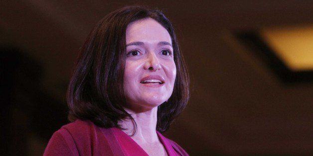 NEW DELHI, INDIA - JULY 2: Facebook Chief Operating Officer (COO) Sheryl Sandberg attends an interactive session organized by
