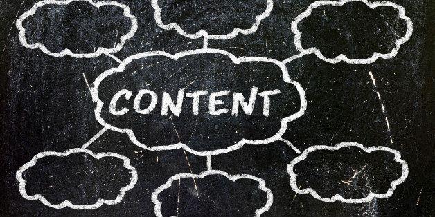 """content"" handwritten with..."