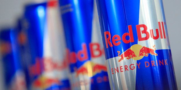 Austrian beverage energy drink cans of Red Bull are pictured in Vienna on March 16, 2013. Red Bull said that an unknown perso