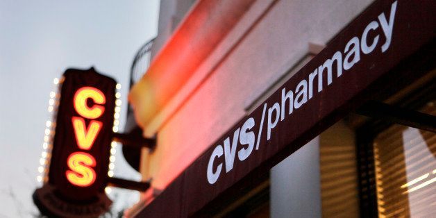 A CVS Pharmacy is seen in Orlando, Fla., Wednesday, Feb. 2, 2011. Drugstore chain and pharmacy benefits manager CVS Caremark