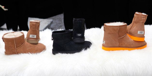 NEW YORK, NY - SEPTEMBER 05: A view of UGG Australia at Mercedes-