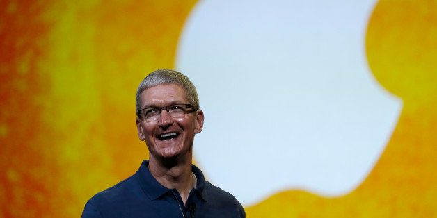 Apple CEO Tim Cook speaks during an event to announce new products in San Jose, Calif., Tuesday, Oct.  23, 2012. (AP Photo/Ma
