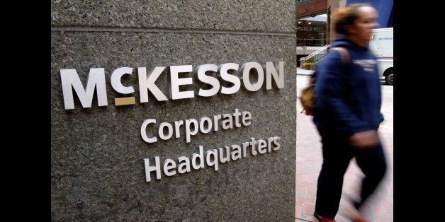 SAN FRANCISCO - JUNE 4:  The McKesson corporate headquarters is seen June 4, 2003 in San Francisco, California. Charles McCal