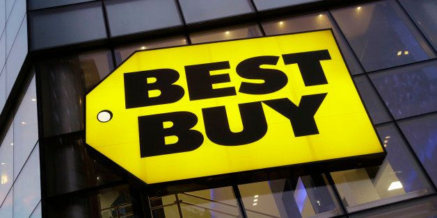 A Best Buy store is shown, Wednesday, Oct. 29, 2014 in New York. The consumer electronics retailer is based in Richfield, Min
