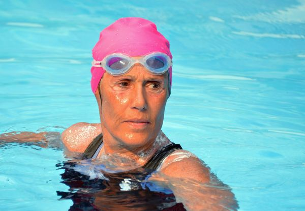 If you want to talk about being fearless, talk about Diana Nyad. The athlete first tried to swim from Florida to Cuba at age