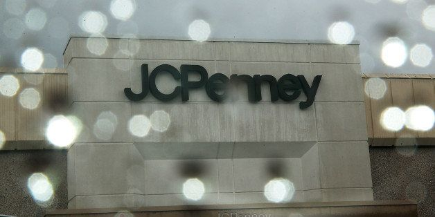 SAN BRUNO, CA - NOVEMBER 20:  A sign is posted on the extrior of a J.C. Penney store on November 20, 2013 in San Bruno, Calif
