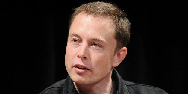 UNITED STATES - JUNE 15: Elon Musk, chairman and chief executive officer of Tesla Motors, speaks during the 'Disruptive by Design' WIRED Magazine Business Conference in New York, U.S., on Monday, June 15, 2009. Tesla began delivering its battery-powered Roadster to customers last year, and wants to sell a battery-powered sedan by 2011. (Photo by Jonathan Fickies/Bloomberg via Getty Images)