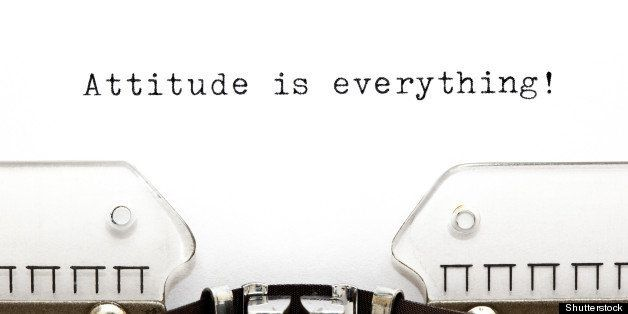 attitude is everything printed...