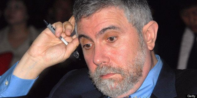SHANGHAI, CHINA - MAY 12: (CHINA OUT) Paul Krugman, Professor at Princeton University and winner of the 2008 Nobel Prize for