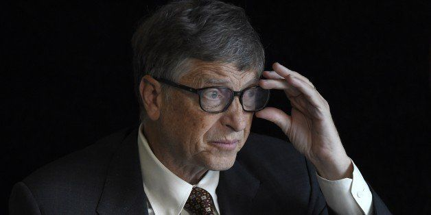 TO GO WITH AFP STORY BY DEBORAH COLE - US billionaire philanthropist Bill Gates of the Bill & Melinda Gates Foundation is pic