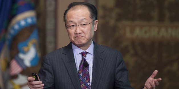 World Bank Group President Jim Yong Kim delivers Georgetown University's inaugural Global Futures lecture on the Ebola virus