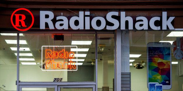 A RadioShack Corp. store stands in San Francisco, California, U.S., on Saturday, June 7, 2014. RadioShack Corp. is expected t