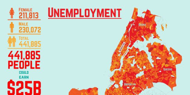 16 Maps That\'ll Change How You See New York City | HuffPost