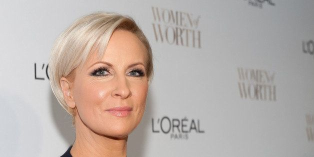 NEW YORK, NY - DECEMBER 02:  Mika Brzezinski attends L'Oreal Paris' Ninth Annual Women of Worth Awards at The Pierre Hotel on