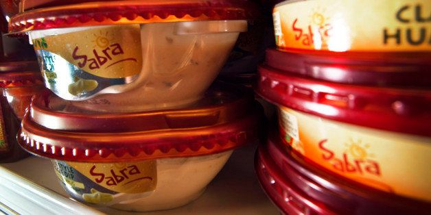 PepsiCo Inc. Sabra brand hummus are displayed for sale at a ShopRite Holdings Ltd. grocery store in Stratford, Connecticut, U
