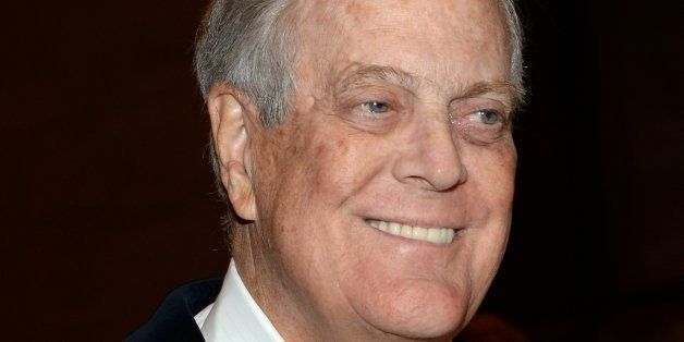 NEW YORK, NY - MARCH 09:  David H. Koch attends The School of American Ballet 2015 Winter Ball at David H. Koch Theater at Lincoln Center on March 9, 2015 in New York City.  (Photo by Ben Gabbe/Getty Images)