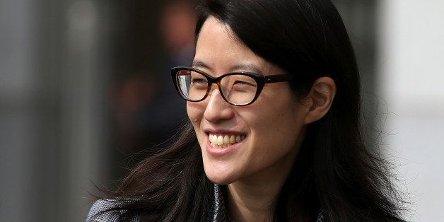 SAN FRANCISCO, CA - MARCH 10:  Ellen Pao leaves the California Superior Court Civic Center Courthouse during a lunch break fr