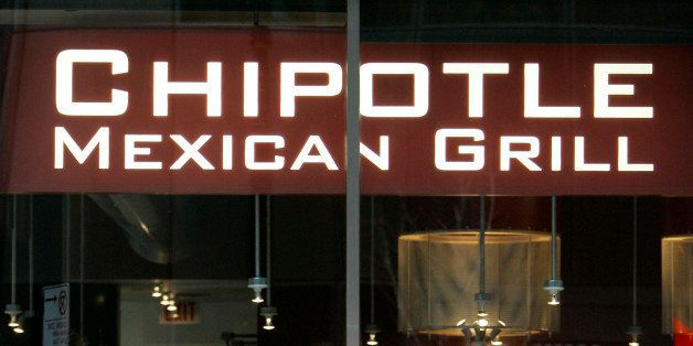 **FILE** Diners are seen through the front window of a Chipotle Mexican Grill restaurant in this Jan. 24, 2007 file photo, in