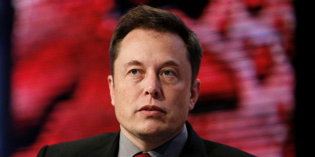 Elon Musk, Tesla Chairman, Product Architect and CEO, speaks at the Automotive News World Congress in Detroit Tuesday, Jan. 1