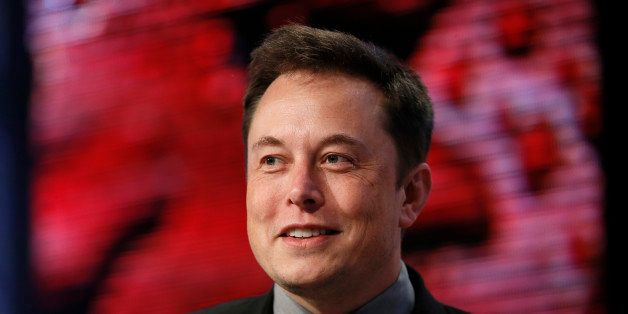 Elon Musk, Tesla Chairman, Product Architect and CEO, speaks at the Automotive News World Congress in Detroit, Tuesday, Jan.